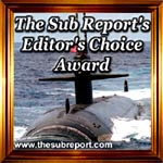 The Sub Report's Editor's Choice Award